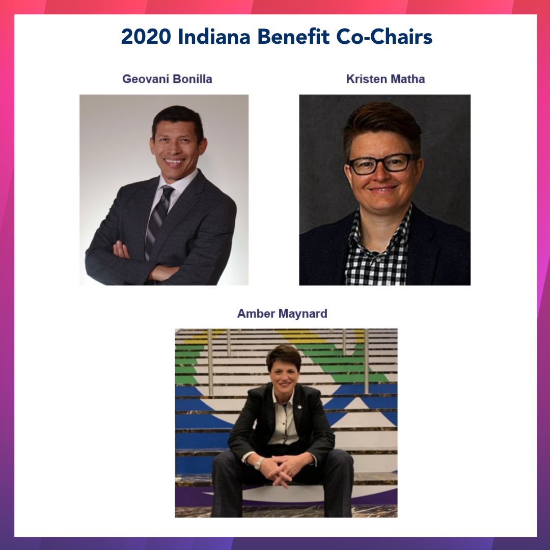 Indiana Benefit 2020 Co-Chairs