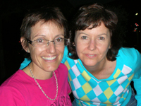 Sue Shapcott and Carrie Sperling.