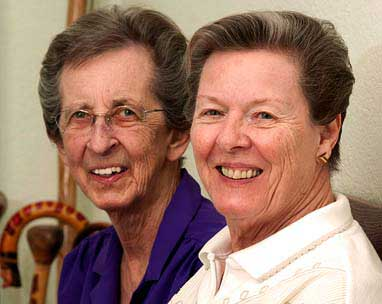 Mary Baranovich and Beverly Sevcik