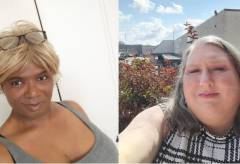 Plaintiffs Shauntae Anderson and Leanne James challenging West Virginia's blanket exclusion of health care coverage for transgender people. (Lambda Legal)