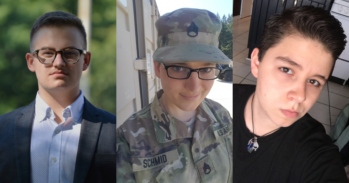 Lambda Legal and OutServe-SLDN clients who are currently serving and wish to enlist