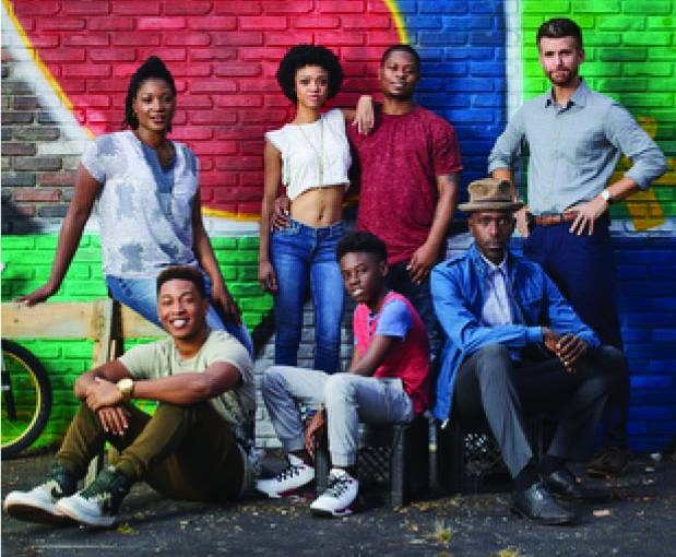 The cast of The Chi.
