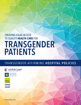 LGBT Advocates Issue Revised Guidelines for Hospitals Treating Transgender Patients