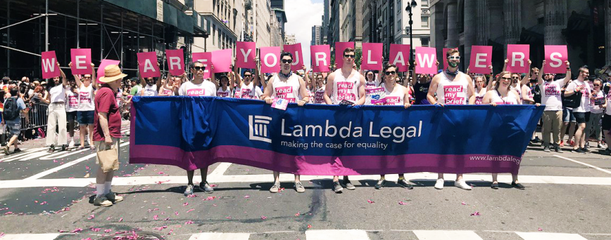 Lambda Legal Lawyers and Staff