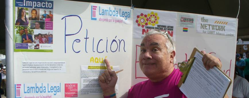 Proyecto Igualdad is Lambda Legal's Latino outreach program.