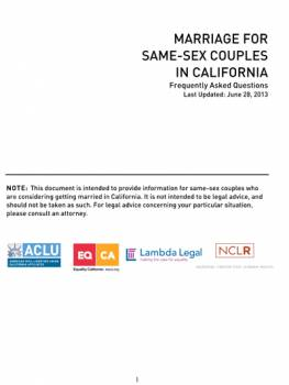 Commitment certificate for same sex couples