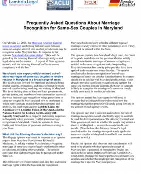 history of same sex marriage in us in Hampshire