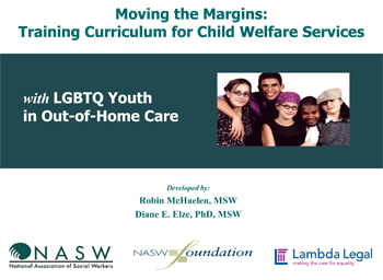 Moving the Margins: Training Curriculum for Child Welfare Services